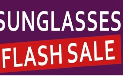 Flash Sunglass Sale